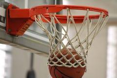 Anillo de los baloncestos Imagenes de archivo