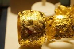 Anillo de oro Fotografía de archivo libre de regalías