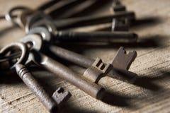 Anillo de viejos claves Imagen de archivo