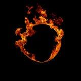 Anillo del fuego Fotografía de archivo libre de regalías