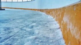 Anillo del hockey sobre hielo Imagenes de archivo