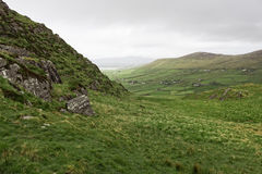 Anillo del paisaje escénico de Kerry - Irlanda Fotografía de archivo
