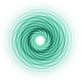 Anillo del verde azul ilustración del vector