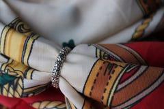 Anillo del vintage de la margarita Fotos de archivo