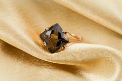 Anillo elegante de la joyería Foto de archivo libre de regalías