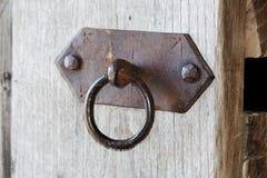 Anillo en una puerta Imagen de archivo libre de regalías