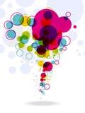 Anillos coloridos abstractos en blanco. eps10 libre illustration