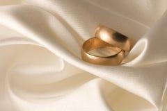 Anillos de bodas 1 Imágenes de archivo libres de regalías