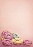 Anillos de espuma coloreados pastel Fotos de archivo libres de regalías