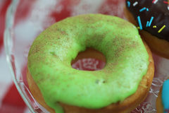 Anillos de espuma coloridos Foto de archivo libre de regalías