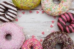 Anillos de espuma, dulces Foto de archivo