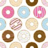 Anillos de espuma dulces inconsútiles Imagen de archivo libre de regalías