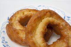 anillos de espuma viejos dulces del buñuelo de la moda Foto de archivo libre de regalías