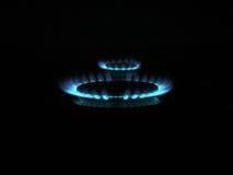 Anillos de gas Foto de archivo libre de regalías