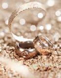 Anillos de lujo Imagen de archivo libre de regalías