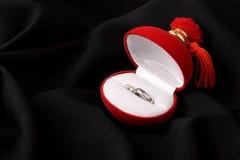 Anillos del anillo y de oído Imagenes de archivo