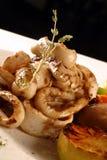 Anillos del Calamari Fotografía de archivo libre de regalías