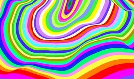 Anillos del color Imagenes de archivo