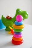 Anillos del juguete Fotografía de archivo libre de regalías