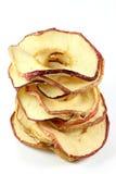 Anillos secados 01 de la manzana Fotografía de archivo