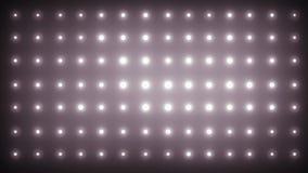 Animação da parede das luzes ilustração do vetor