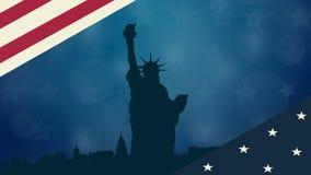 Animação do fundo da cortina Molde video para anunciar, apresentação, filme, bandeira ilustração royalty free
