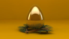 Animação do ovo da páscoa 3d video estoque