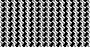 Animação do teste padrão geométrico, projeto do ornamento video estoque