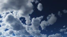Animação do timelapse das nuvens video estoque