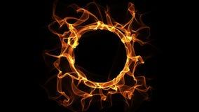 Animação HD720 do laço do anel do fogo ilustração do vetor