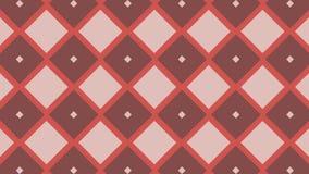 Animação múltipla abstrata do fundo dos gráficos da forma do rombo da cor, ilustração do vetor