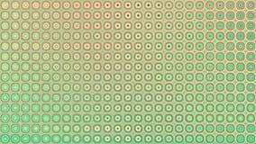 Animação sem emenda do laço do fundo abstrato brilhante dos botões ilustração do vetor