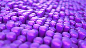 animações dos primitivos 3d Foto de Stock