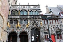 anima Bruges del Belgio della basilica santa Immagini Stock Libere da Diritti