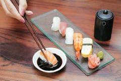 Anima dei sushi Fotografie Stock Libere da Diritti