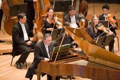 Anima Eterna Philharmonic Orchestra. Members of the Anima Eterna Philharmonic Stock Photography