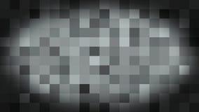 Anima??o pixelated Animated do fundo 3d da arte do la?o ilustração do vetor