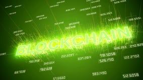 Anima??o video da rede do blockchain vídeos de arquivo