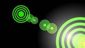 Animación óptica de las llamaradas fijada: rojo, verde, azul Chanel alfa incluido stock de ilustración