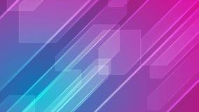 Animación abstracta colorida del vídeo de la tecnología
