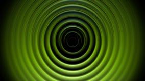 Animación abstracta verde clara del vídeo de los círculos stock de ilustración