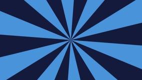 Animación azul oscura de las rayas libre illustration