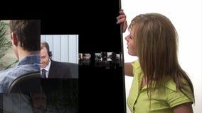 Animación conceptual 6 del negocio almacen de video