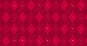animación a cuadros rojo oscuro 4k con la línea de oro de la rociada almacen de metraje de vídeo