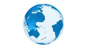 Animación de alta calidad de la tierra del planeta