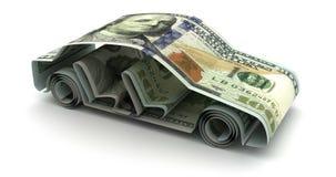 Animación de las finanzas del coche