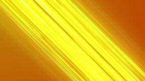 Animación de las líneas cómicas amarillas efecto de la velocidad del modelo de la textura del fondo en concepto de la historieta ilustración del vector