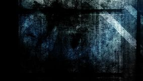 Animación de las transiciones de la capa de la textura del Grunge almacen de metraje de vídeo