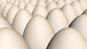 Animación de los huevos de Brown ilustración del vector