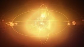 Animación del átomo libre illustration